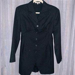 Original Vintage Issac Mizrahi Pinstrip Blazer